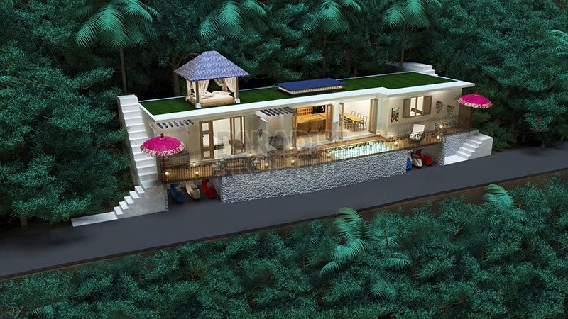 Beautiful Off-Plan 2 Bedroom Villa in a Desired Penestanan Location Ubud – Leasehold 25 years + Extension Options