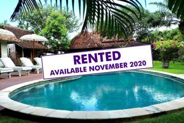 Large and Spacious 4 Bedroom Joglo Villa for Yearly Rental in Seminyak