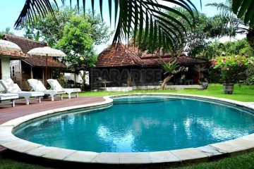 [Rented] Large and Spacious 4 Bedroom Joglo Villa for Yearly Rental in Seminyak