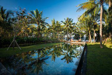 10,000m2 Beachfront 3 Villa Complex In Jembrana With Hotel License
