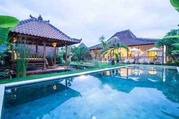 Outstanding Private 4 Bedroom Traditional Design Villa for Sale in Kerobokan