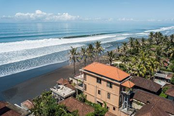 Absolute Beachfront – 6+1 Bedroom Freehold Villa with Separate Granny Flat and Road-Front Commercial Space