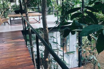 Extraordinary Designer Villa set amidst Tropical Jungle with River Views – Leasehold