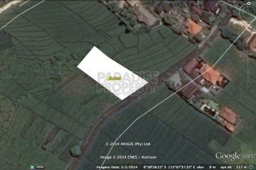 Freehold Land (2000 Sqm) In Pererenan  Canggu Located on Tourism Zoning