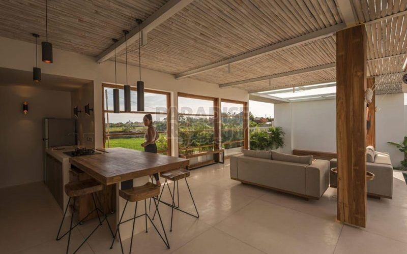New 2 Bedroom Leasehold Villa in Umalas Rice Fields With Mediterranean Ambience