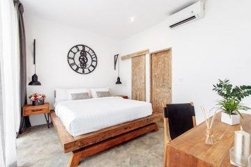 Two Bedroom Villa With Views to Rice Fields for Yearly Rental in Padonan, Canggu