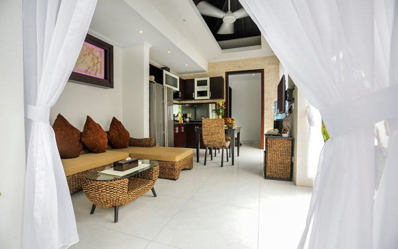 Complex of 4 Villas in Legian, Leasehold for 23 Years