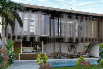 Two Bedroom Leasehold Villa Near Berawa Beach