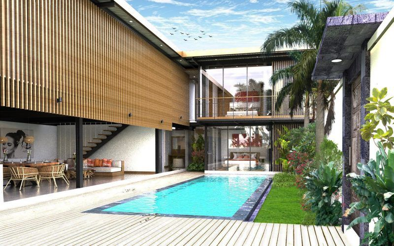 Six Bedrooms Berawa Beach Villa, Leasehold for 25 Years