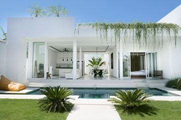 Modern 3 Bedroom Villa, Leasehold for 29 Years in Padonan, Canggu
