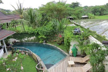 [Rented] 3 Bedroom Villa for Yearly Rental in Umalas with Rice Field Views