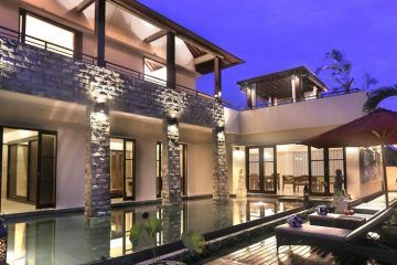 An Idyllic 3 Bedroom with Tropical Pool Villa in Canggu