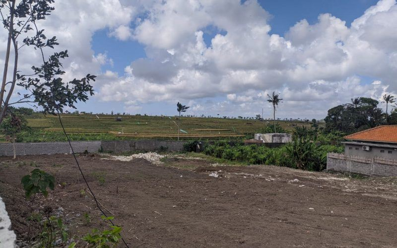 Gently Sloping Land in Quiet Tumbak Bayuh Location