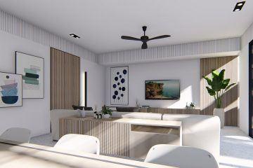 Off Plan 4 Bedrooms Leasehold Villa in Berawa