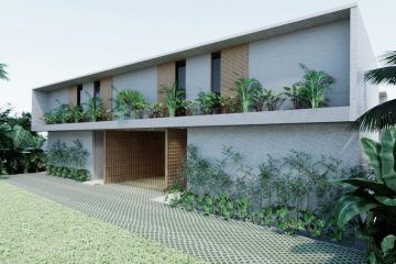 New Minimalist Off Plan 4 Bedroom Leasehold Villa in Berawa