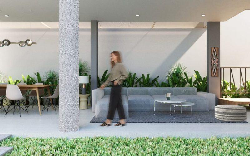 New Minimalist Off Plan 4 Bedroom Leasehold Villa in Berawa