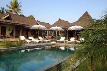 Magnificent 5 Bedroom Villa On 3000m2 Of Very Lush Garden Amidst The Umalas Ricefields