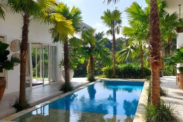Stylish White Villa With Rice Field Views – South of Ubud – Leasehold