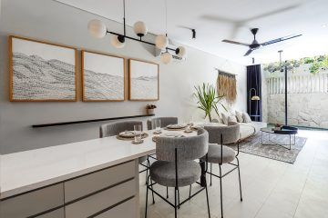 Two Designer 1-Bedroom Townhouses In The Heart Of Canggu