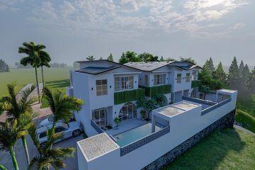 Modern, Luxurious Townhouses Close to the Beach in Kediri